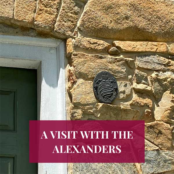 A Visit with the Alexanders